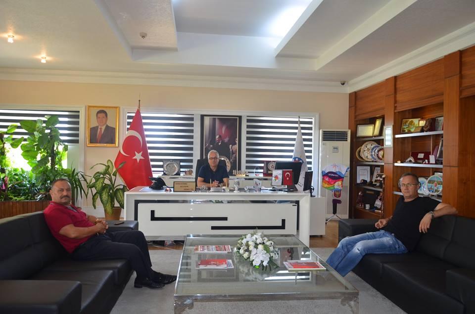 Yörük Başkanı ve Yörük Beyi Başkan Vekili Can'ı Ziyaret Etti