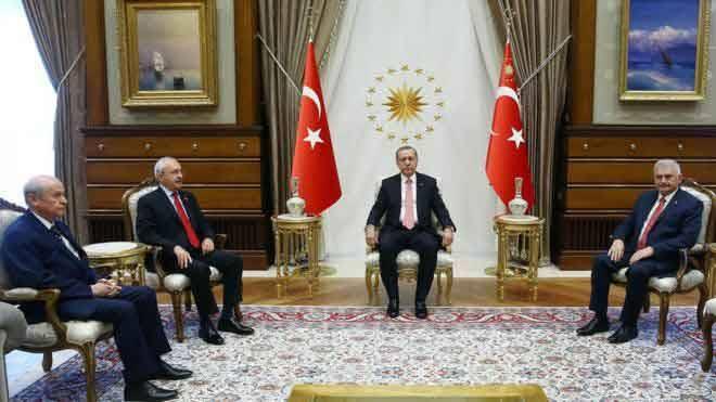 Başkan Gül'den Liderlere Teşekkür Mesajı