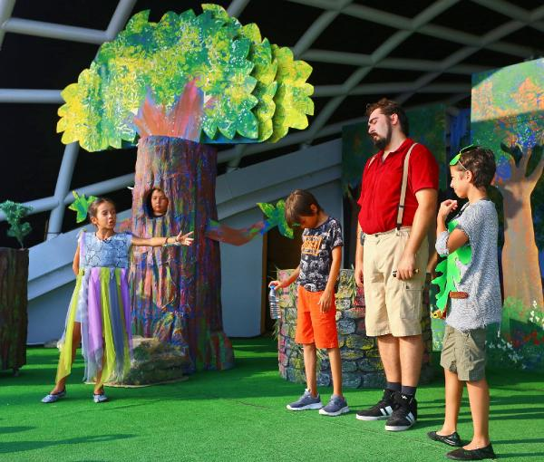 'Küçük Ağa Sihirli Ormanda' Expo 2016'da