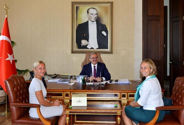 Antalya ile Rusya ilişkileri ileri düzeyde