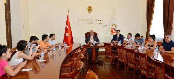 Vali Karaloğlu: Azerbaycan'dan daha çok turist bekliyoruz