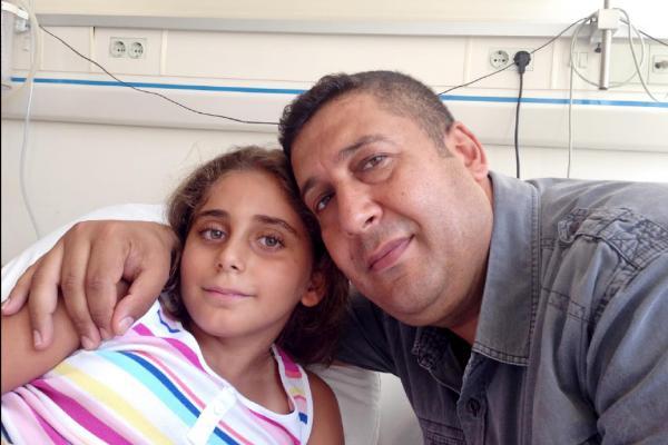 8 yaşındaki Lara'nın su kaydırağında parmağı koptu