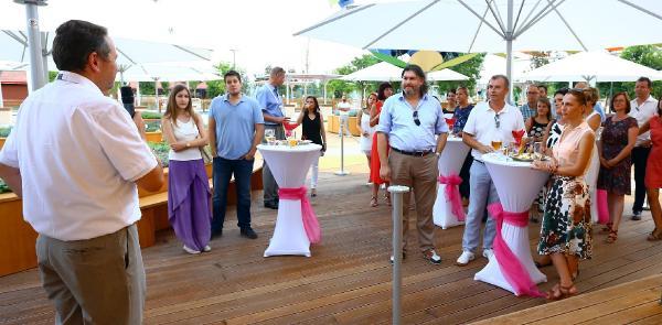 Turizm acenteleri Expo 2016'daki Alman Bahçesi'nde buluştu