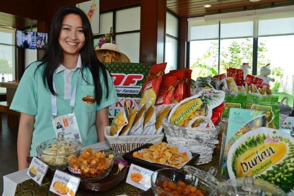 Tayland'a özgü tropikal meyveler EXPO 2016'da