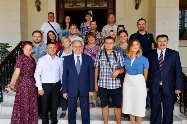Ukrayna, Antalya'ya en çok turist gönderen ikinci ülke