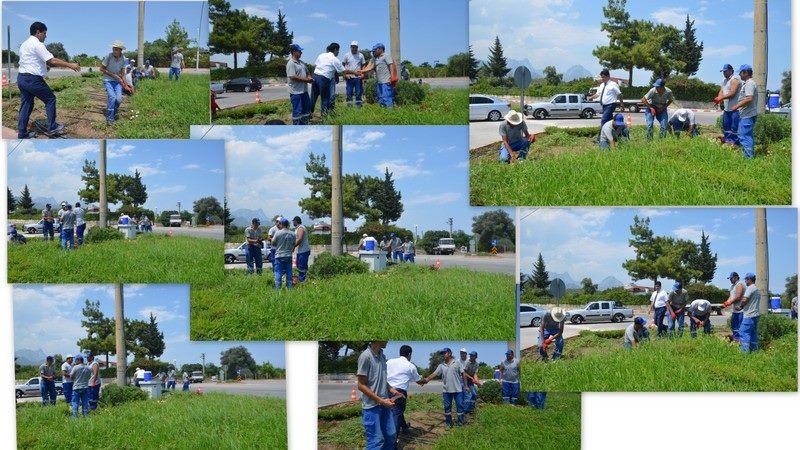 Başkan Gül Park Bahçe İşçilerine Teşekkür Etti