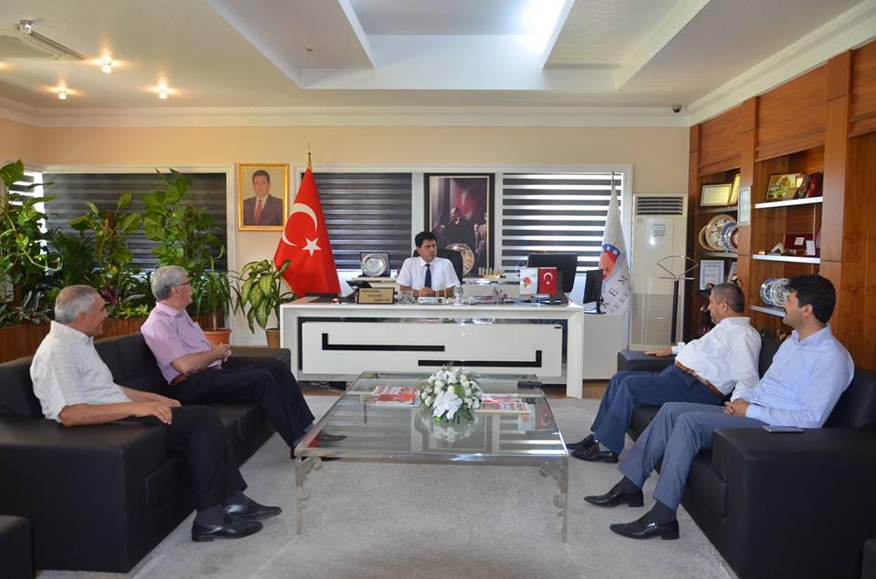 Antalya Müftüsü Osman Artan Başkan Gül'ü Ziyart etti
