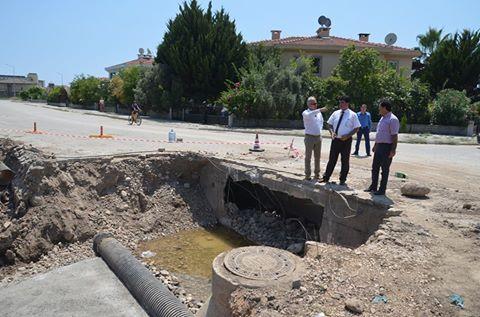 Çamyuva Mahallesi'nin Yağmur Suyu Sorunu Çözülüyor