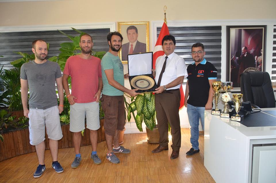 Başkan İpkin'den Başkan Gül'e Teşekkür Ziyareti