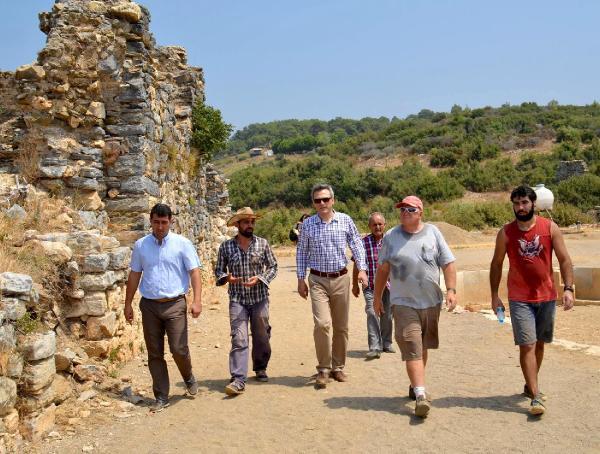 Antiocheia Ad Cragum Antik Kenti'nde kazı çalışmaları sürüyor