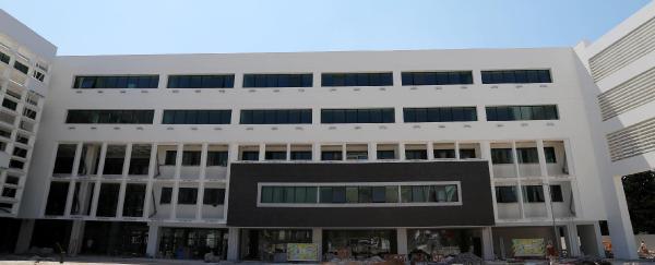 Büyükşehir'in yeni binasında sona yaklaşıldı