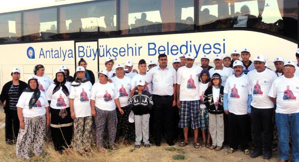 Antalyalı Aleviler Hacıbektaş'ta