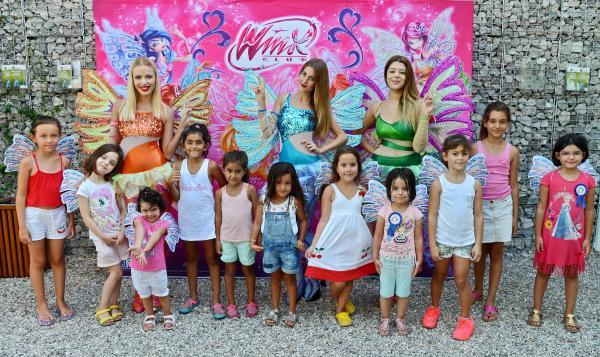 Winx Perileri, İtalya Bahçesi'nde çocuklarla buluştu