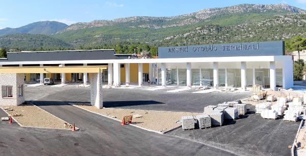 Akseki otobüs terminali tamamlandı