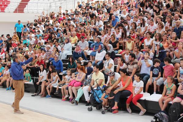 Yaz Spor Okulu öğrencilerine milli değerler konferansı
