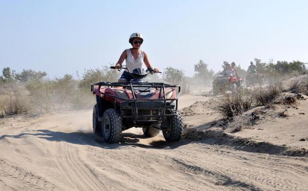 ATV safarilere yoğun ilgi