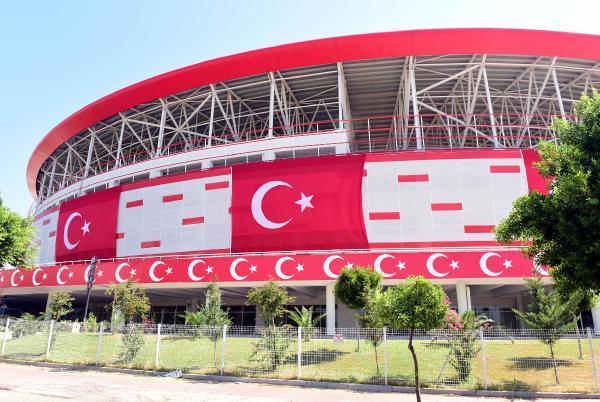 Antalya Stadı'nda yüksek düzeyli güvenlik önlemi