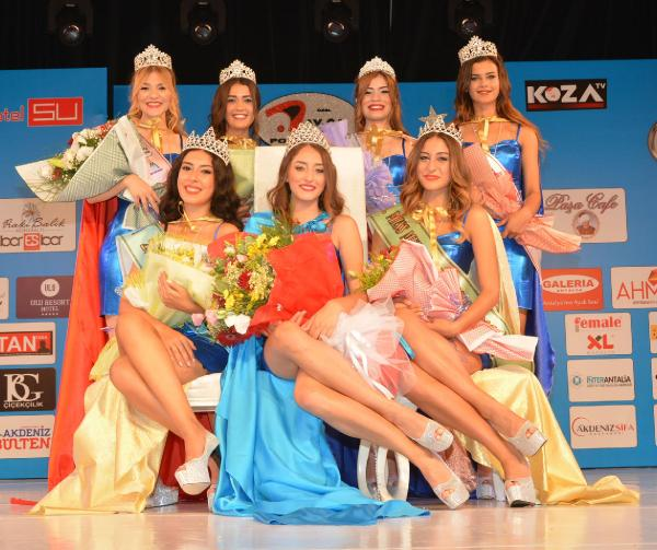 Miss Mediterranean kraliçesi Ceyda Çakır