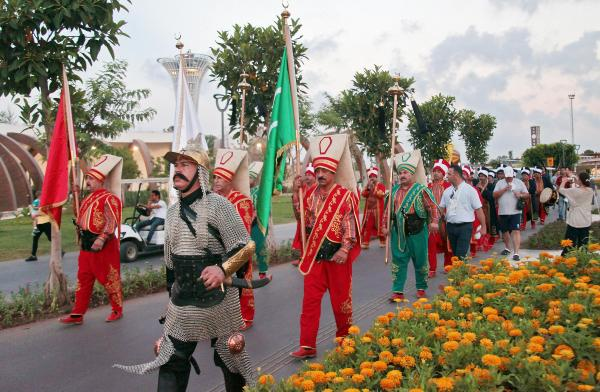 Expo 2016'da mehteran coşkusu