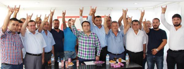 MHP Kumluca'da yeni yönetim