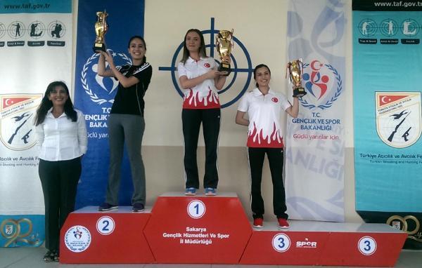 Antalyalı sporcu Türkiye birincisi