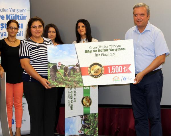 İbradı'da kadın çiftçiler yarıştı