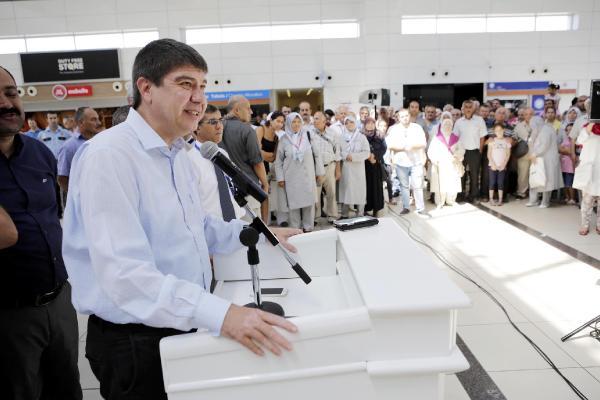 Başkan Türel, hacı adaylarını uğurladı