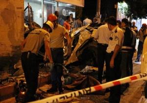 Antalya'da aşırı hız kazası: 2 ölü
