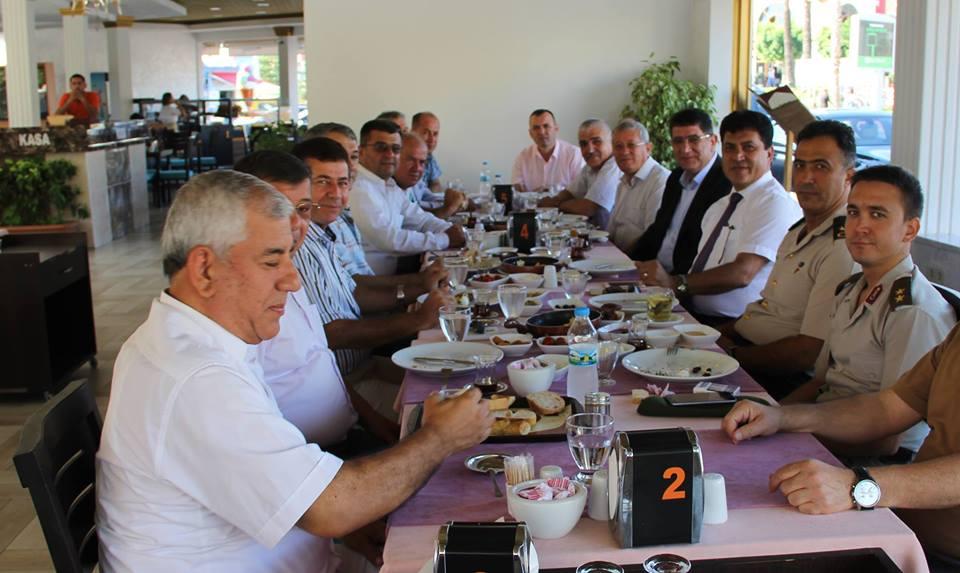 Oda Başkanları ve Kemer Protokolü Kahvaltıda Buluştu