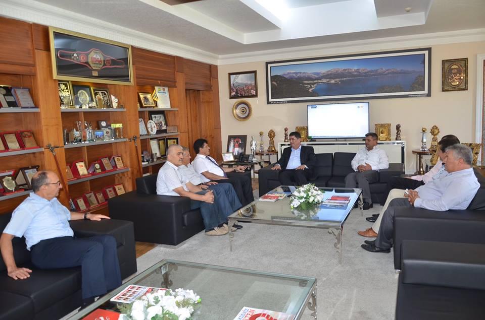 Oda Başkanından, Başkan Gül'e Anlamlı Ziyaret