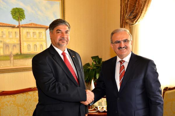 Irak'ın Büyükelçisi Alalawi, Vali Karaloğlu'nu ziyaret etti