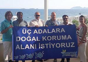Turizmciler 'Üç Adalar'a koruma istiyor