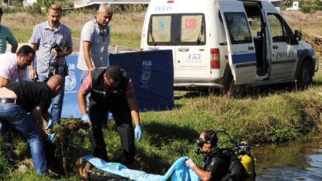 Antalya'da Kanalda Bir Ceset Bulundu