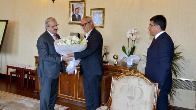 Expo Genel Sekreteri Işık ve Oaib Başkanı Bağdatlıoğlu'ndan Vali Karaloğlu'na Ziyaret