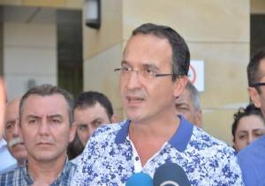 Avukatların gözaltına alınmasına tepki