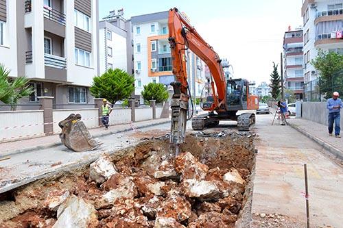 Kızıltoprak ve Yenigün'de su baskınları tarih olacak