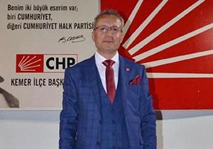 CHP Kemer İlçe'den Mustafa Gül'e veto