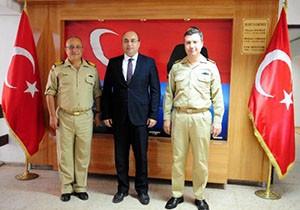 Akdeniz Sahil Güvenlik Komutanı'ndan, Kemer'e ziyaret