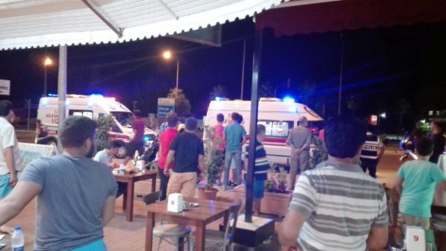 Tartıştığı Restoran Sahibini Silahla Yaraladı
