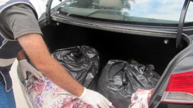 11 Kilo Eroin Torbacılara Ulaşmadan Ele Geçirildi