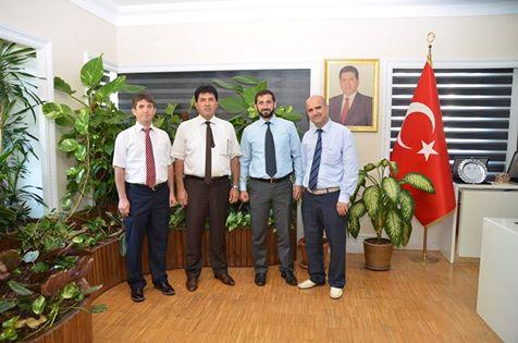 İlçe Müftü Vekili Tanış Başkan Gül'ü Makamında Ziyaret Etti