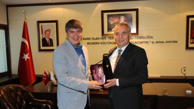 Antalya Büyükşehir'den Başkan Osman Zolan'a Ziyaret
