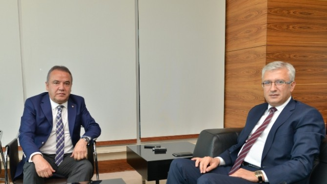 Cumhuriyet Başsavcısı Solmaz'dan Başkan Böcek'e Ziyaret