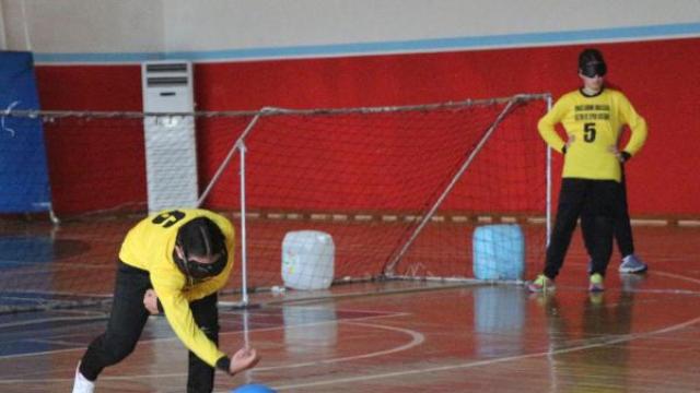 Görme Engelliler Goalball 1'inci Lig Müsabakaları Başladı