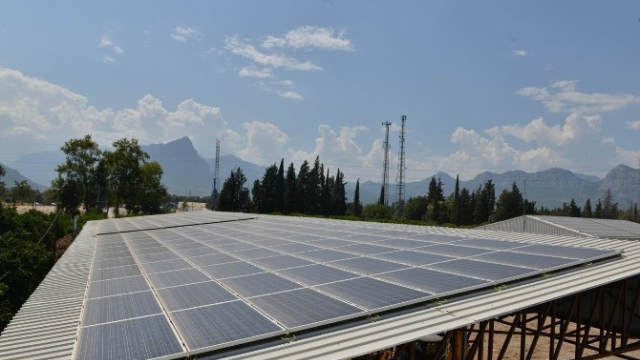 Konyaaltı Belediyesi, Kendi Elektriğini Üretiyor
