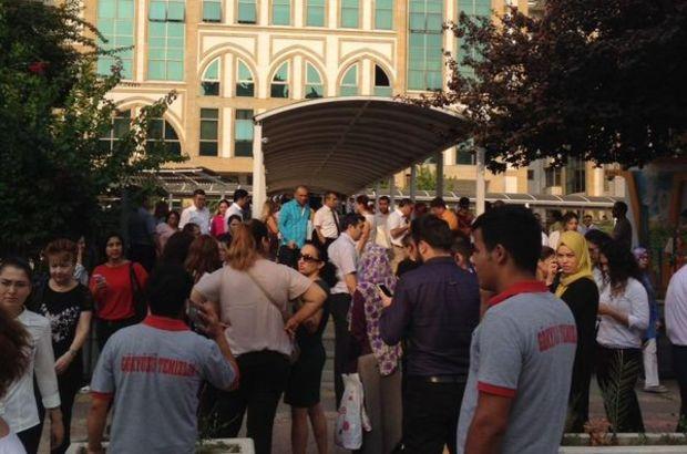 Antalya Adliyesi  canlı Bomba  İhbarı Üzerine Boşaltıldı