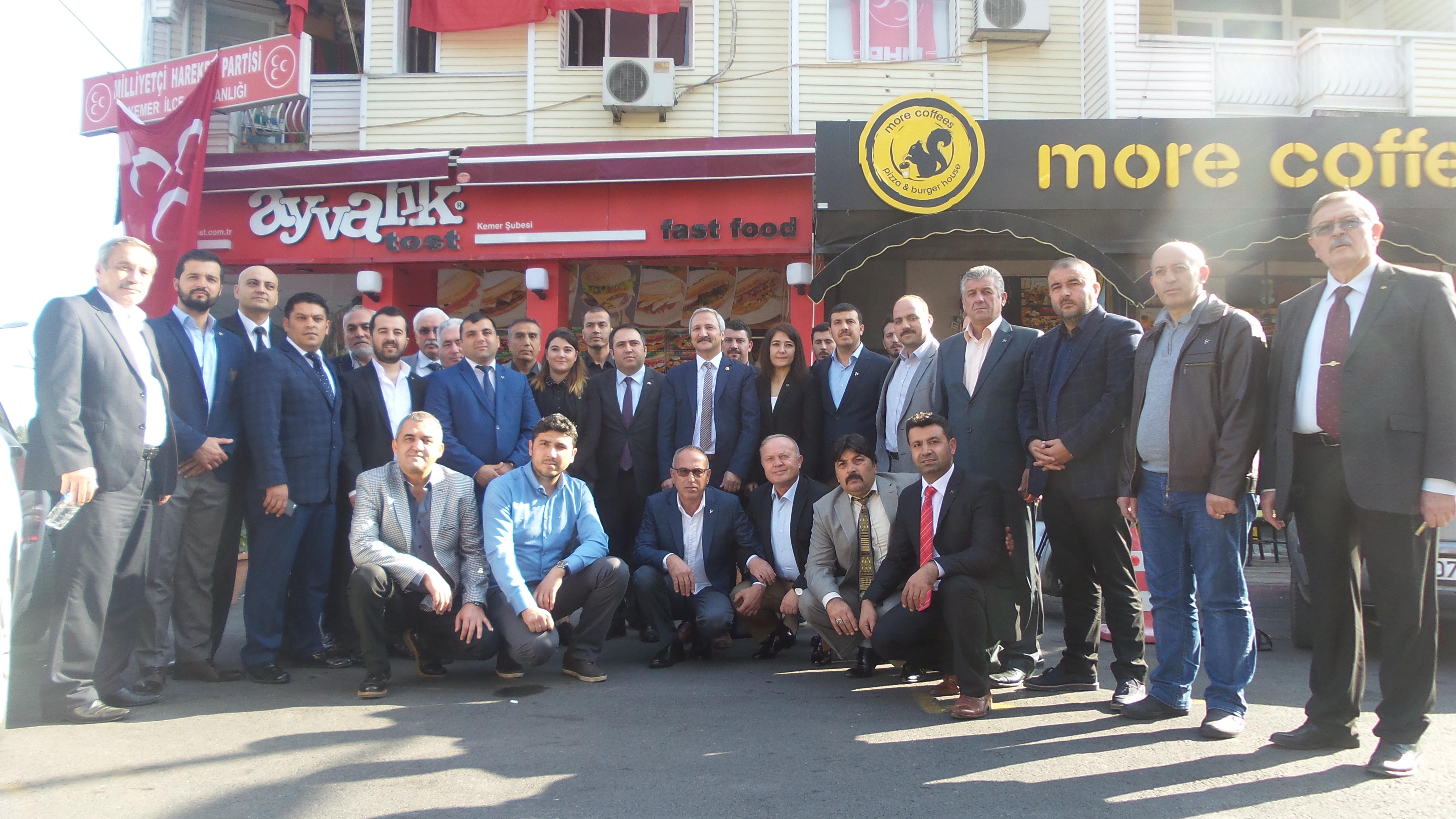MHP Kemer İlçe Yönetim kurulu belli oldu.