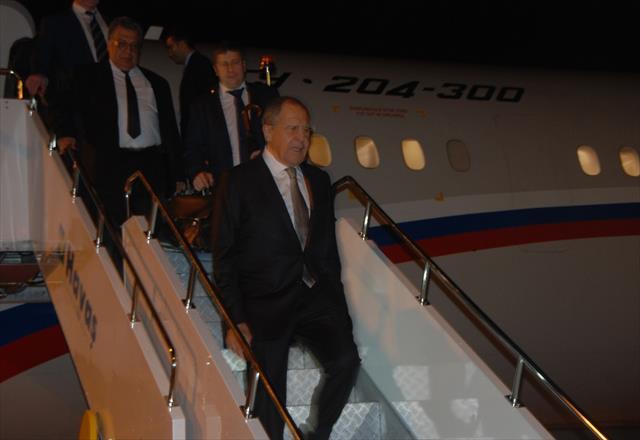 Rusya Dışişleri Bakanı Lavrov, Antalya'da
