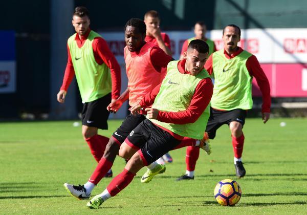 Antalyaspor, Trabzonspor hazırlıklarını sürdüyor