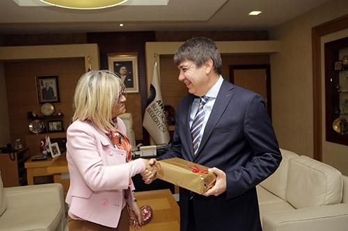 Portekiz Büyükelçisi'nden Başkan Türel'e ziyaret